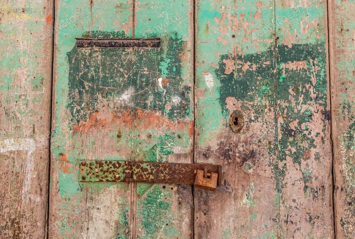 Puerta vieja en La Valeta
