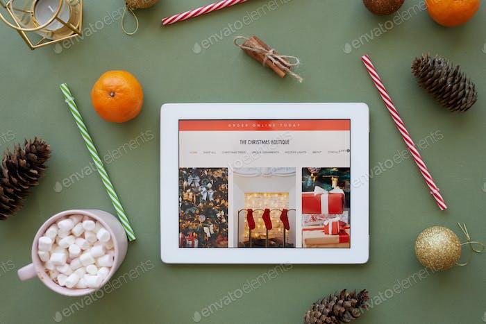 Boutique de Navidad en Internet