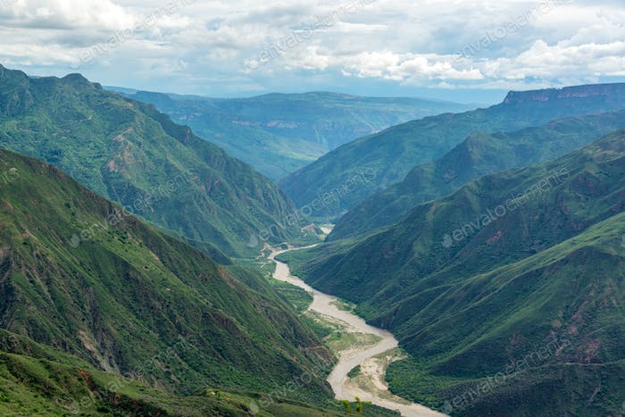 Green Chicamocha Canyon
