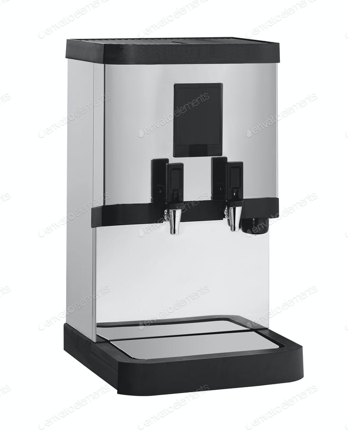 coffe maker on a white background