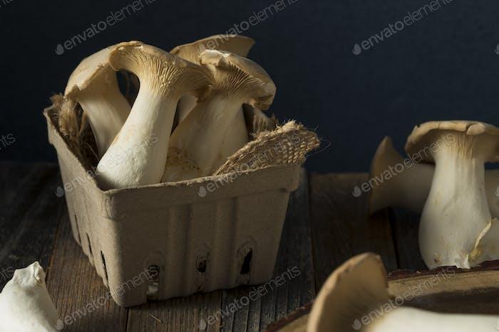 Raw Organic King Oyster Mushrooms