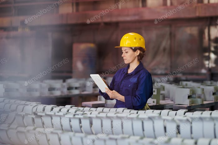 Woman Managing Production