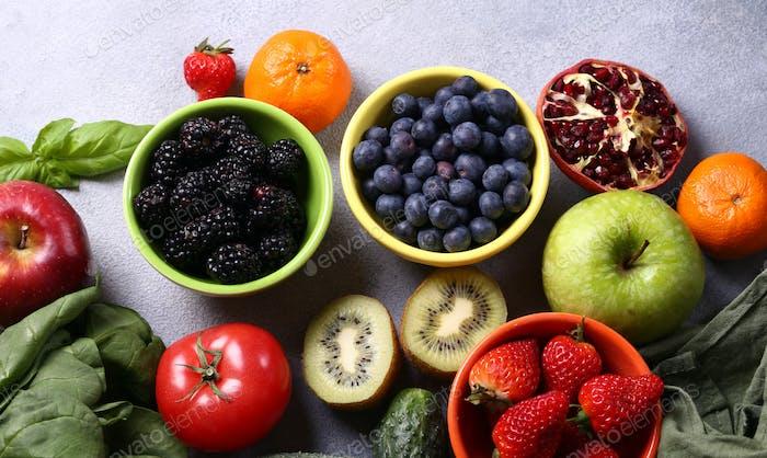 Beeren Obst Gemüse