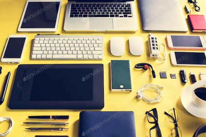Thumbnail for Digital device technology equipment gadget