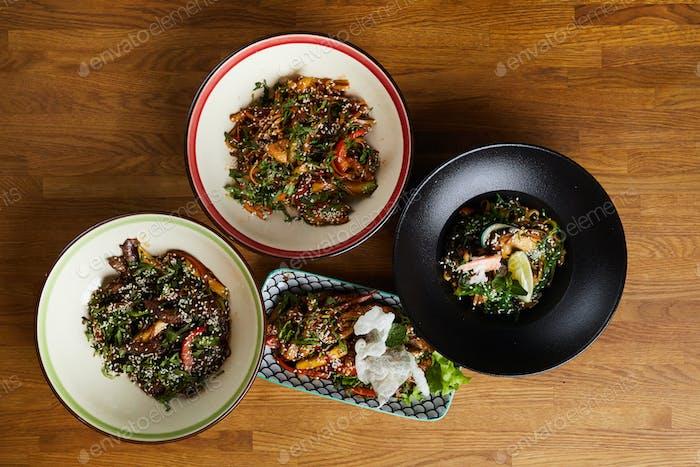 Gerichte der orientalischen Küche