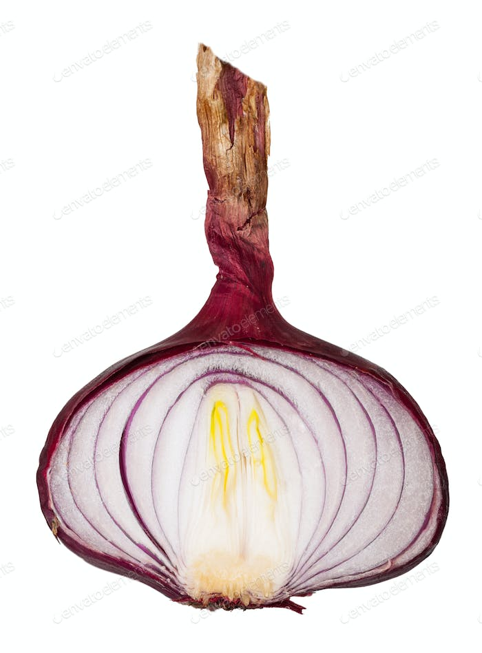 Sliced ??red onion