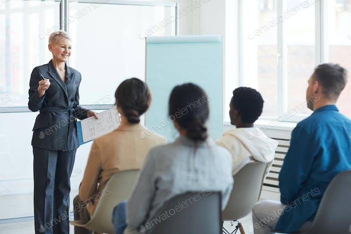 Presentation during Business Seminar