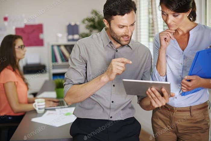 Digital display makes our work easier