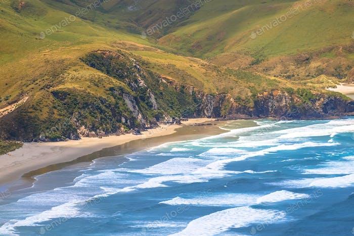 Küste der Halbinsel Otago