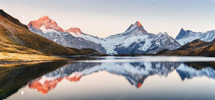 Bachalpsee in den Schweizer Alpen