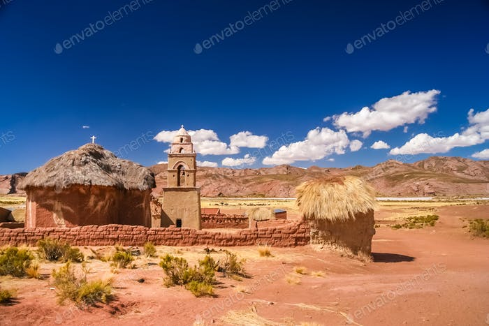 Small church in Bolivia