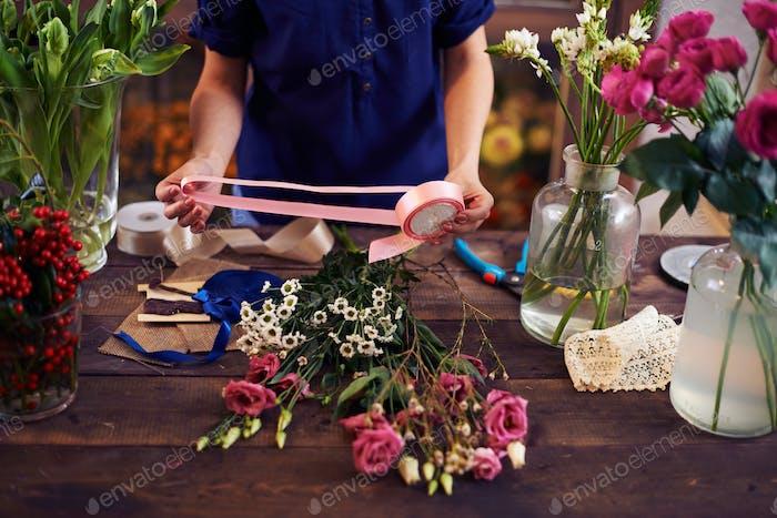 Design von Blumensträußen