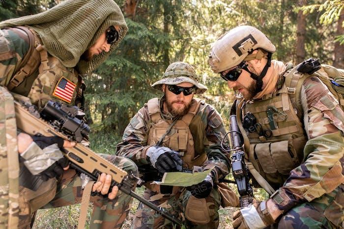Analyzing plan of battle