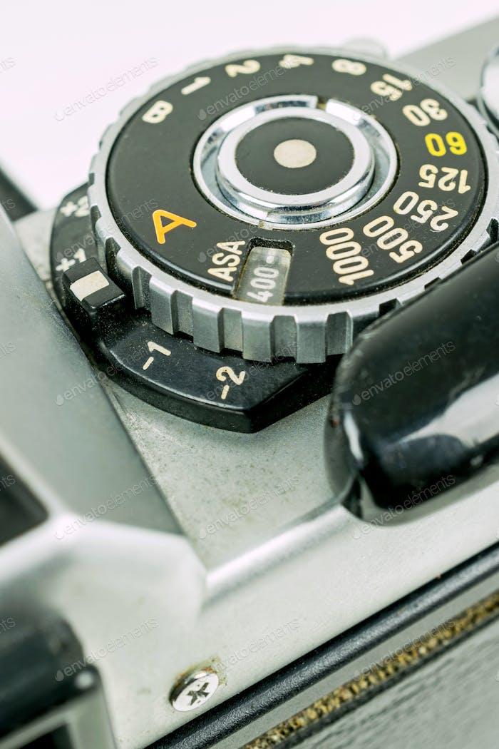 Retro Camera ISO ASA Dail