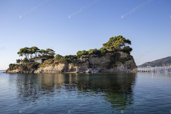 Cameo island at Zakynthos
