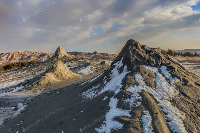 Mud Mud Volcanoes, Romania, Romania