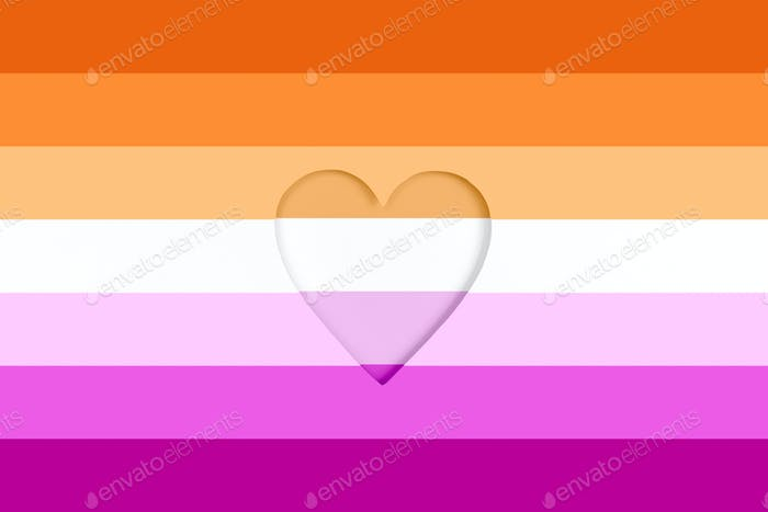 Lesbian flag background