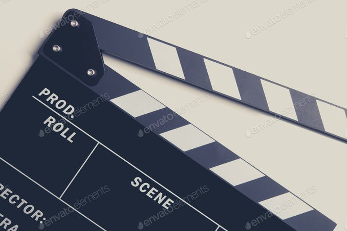 Film Making Clapperboard
