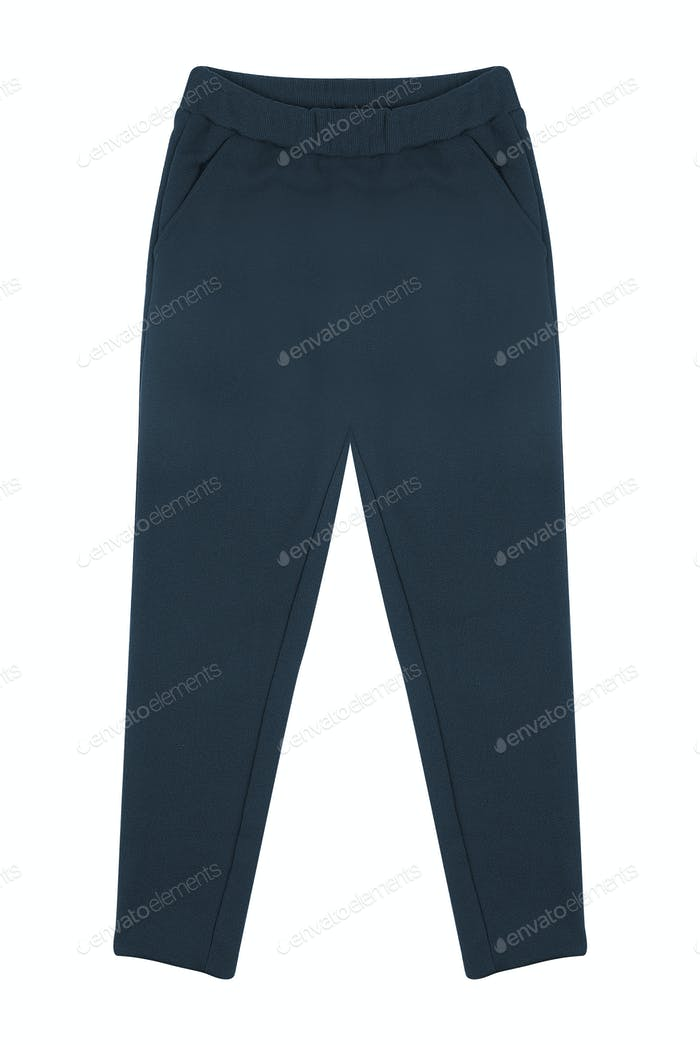 Sport sweatpants isolated