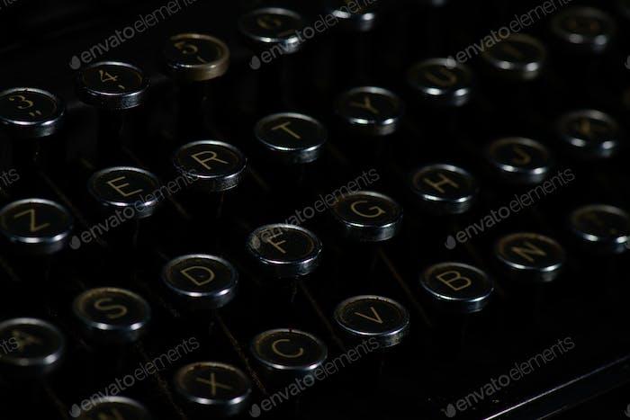 Antique retro vintage typewriter