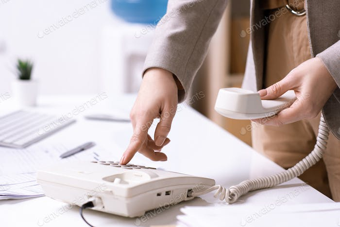 Patching through phone call