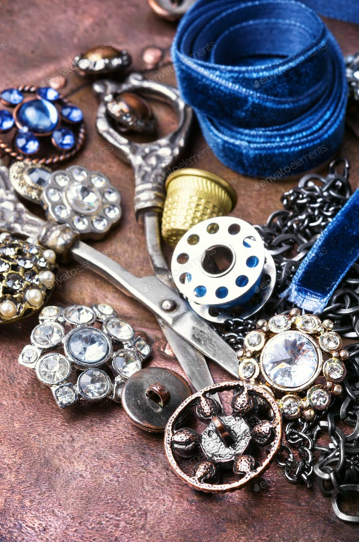 Stylish sewing accessories