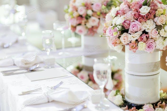 Wunderschöne Hochzeitsdekoration