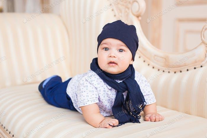 baby boy, 3 months old