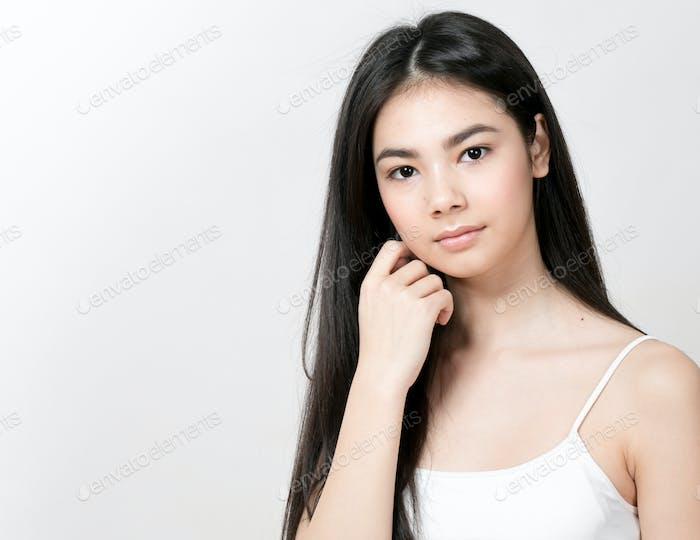 Asian woman girl beauty portrait
