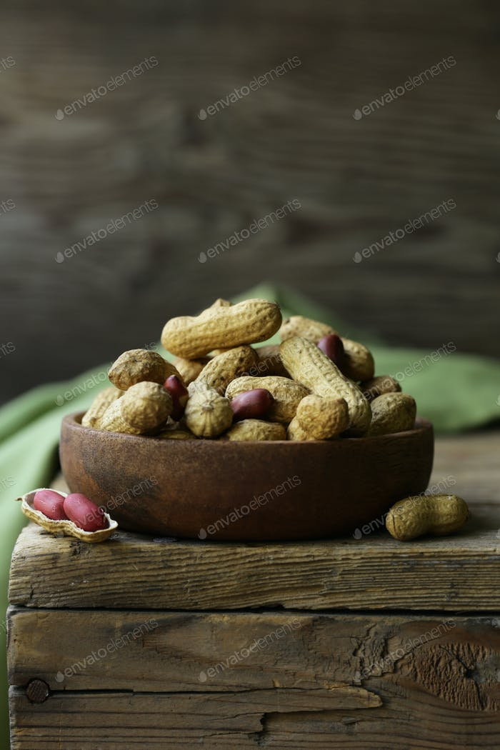 Natural Organic Peanuts