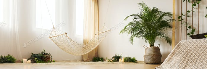 Natural design of bedroom