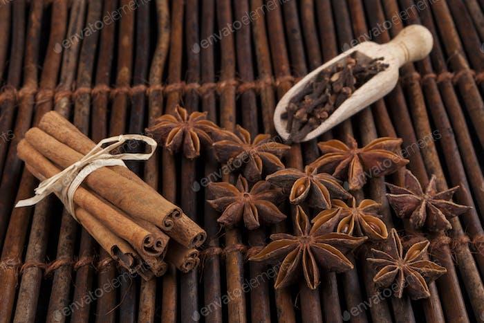 Cinnamon on Wood