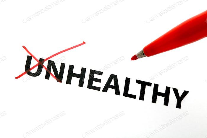 Concepto saludable