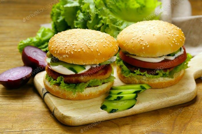 Homemade Burgers