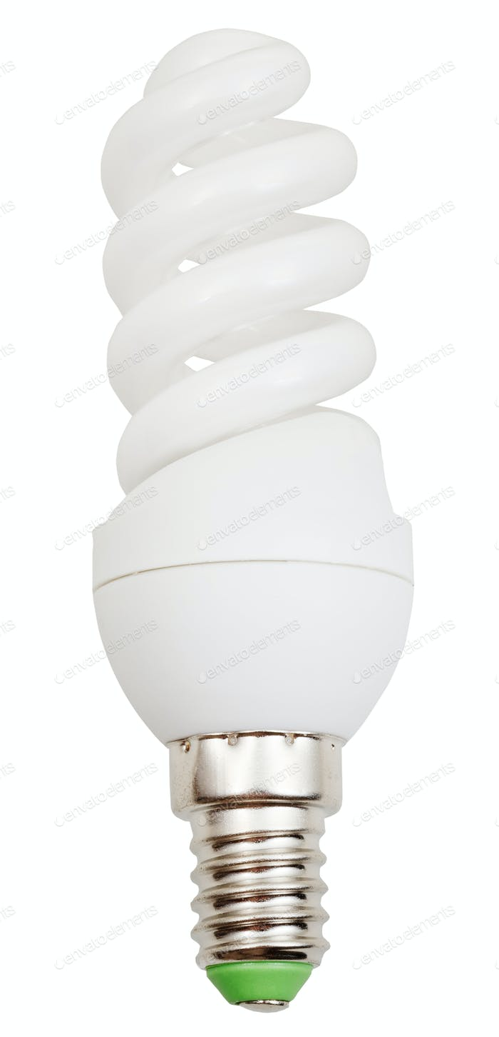 energiesparende spiralförmige Leuchtstofflampe