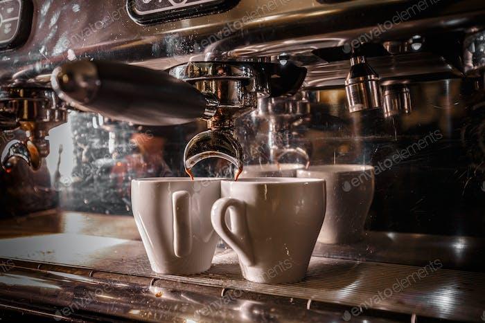 Professional coffee machine