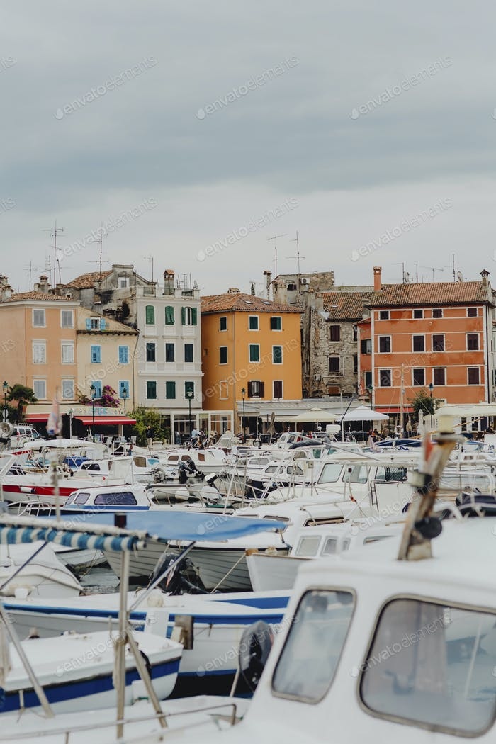 Port of Rovinj Croatia