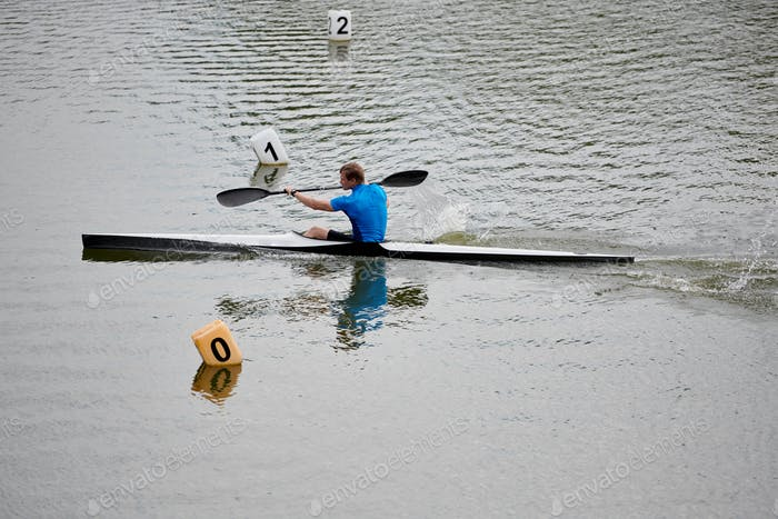 Sport competition on the water