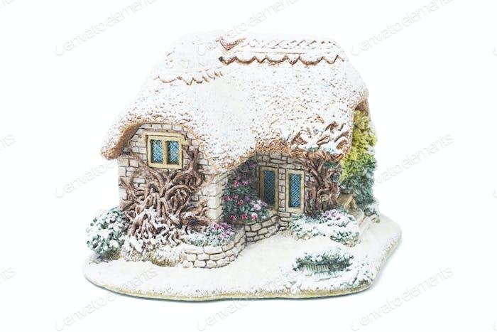 Christmas House Ornament