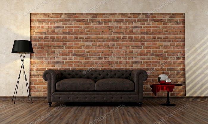 Vintage-Wohnzimmer