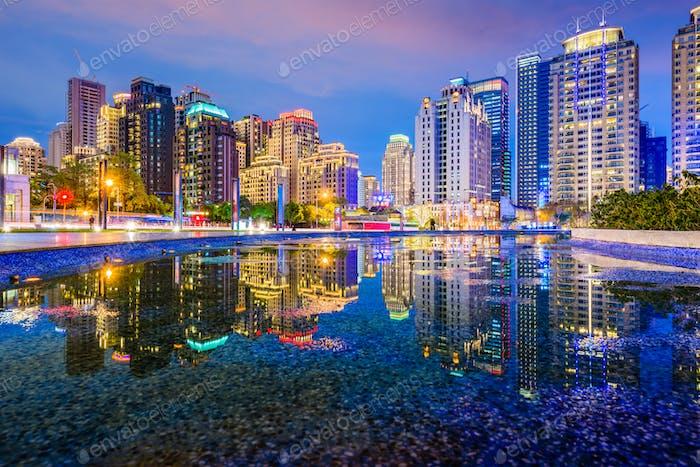 Taichung, Taiwan Cityscape