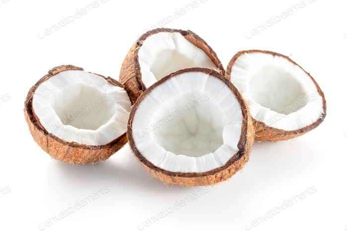 Thumbnail for fresh cracked coconuts