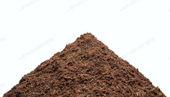 Heap of the soil