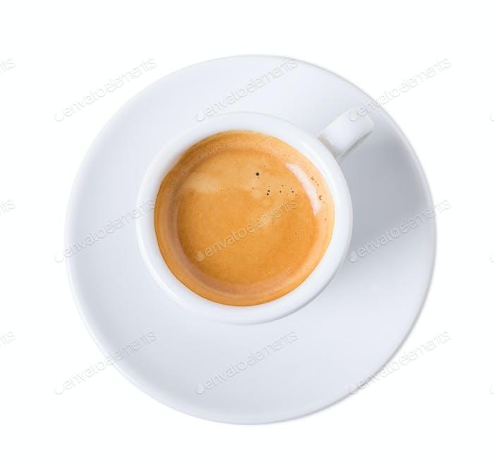 Tasse aromatischen italienischen Espresso.