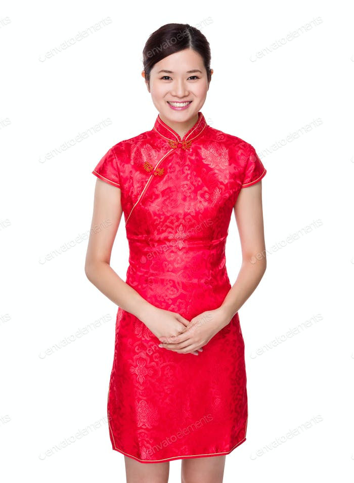 Chinese young woman portrait