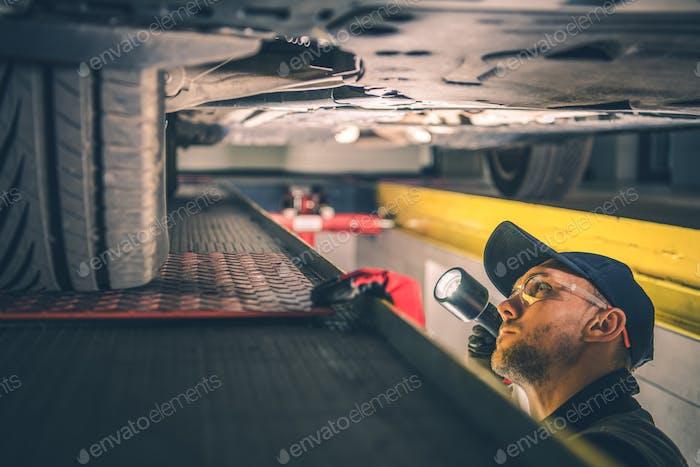 Car Suspension Issue