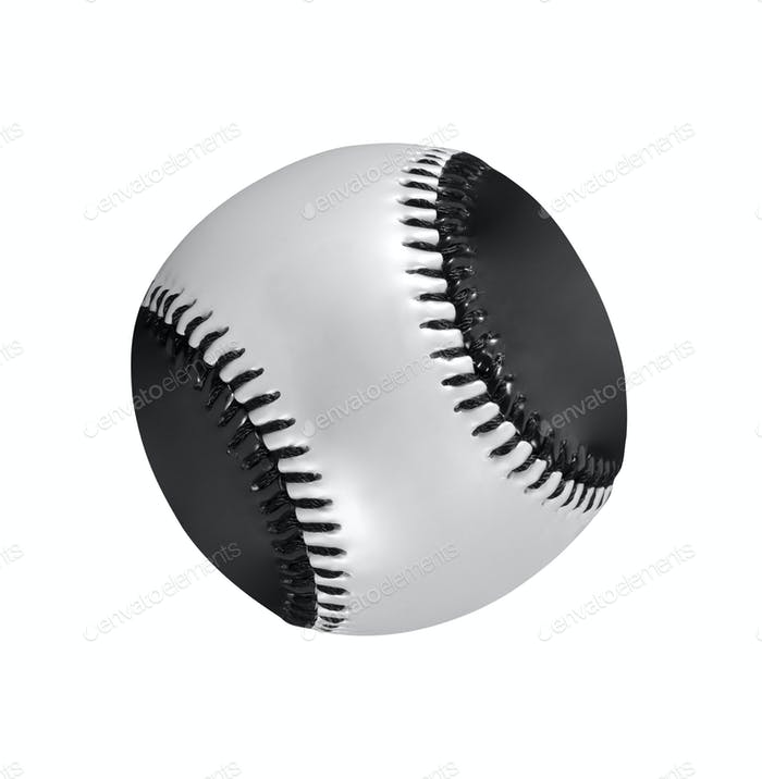 baseball ball isolated