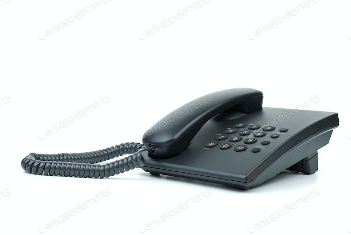 Modern black phone
