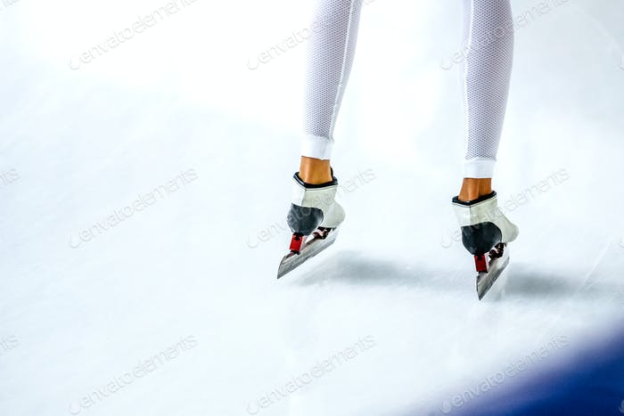 Legs Girl Athlete Speed Skaters