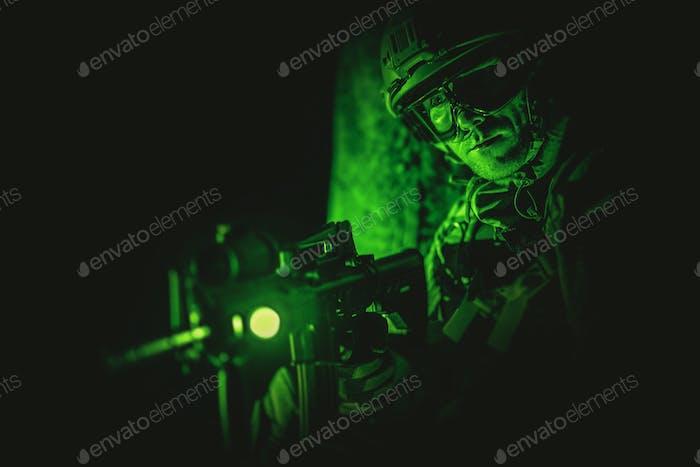 Soldat Nachtsicht Spotting